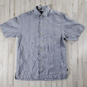 Tommy Bahama Relax Short Sleeve Button Up Small